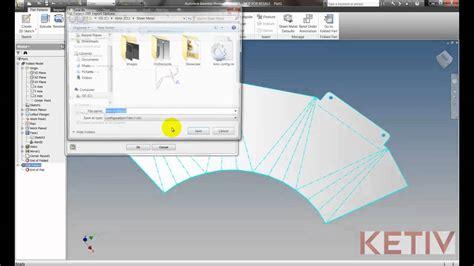 flat pattern drawing inventor export sheet metal flat pattern in autodesk inventor youtube