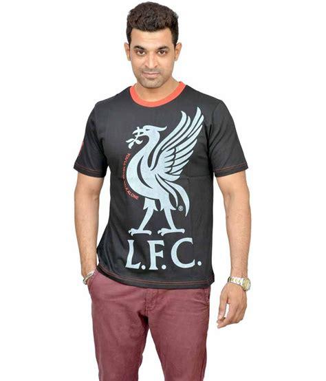 Tshirt Liverpool Desain Nv Liverpool 45 liverpool football club black cotton neck football t shirt buy liverpool football club