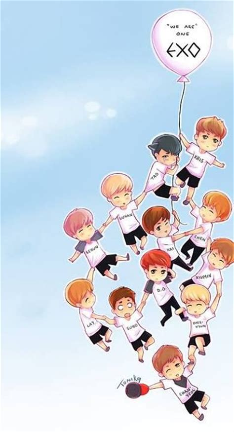 exo wallpaper fanart 74 best images about exo chibi on pinterest wolves