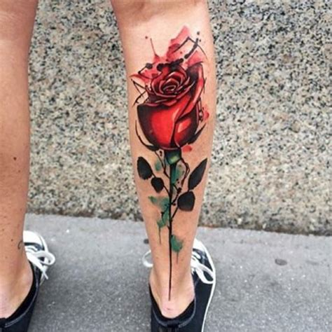 watercolor rose tattoo top 25 ideas about watercolor tattoos on