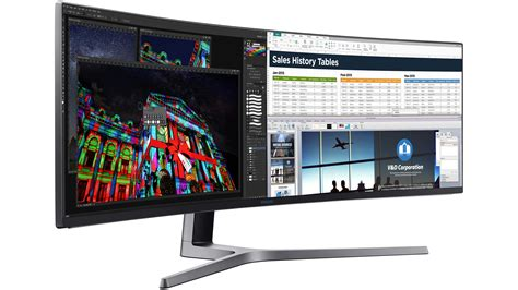 Samsung Qled Gaming Samsung S Ultra Ultra Wide Qled Monitor Will Cost 2499 In