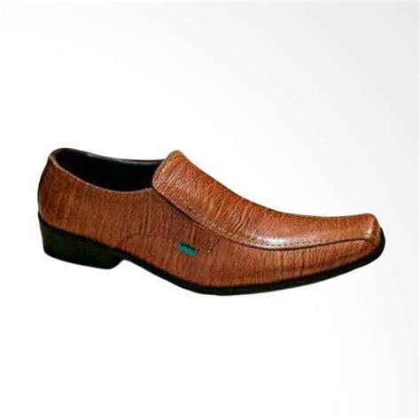 Sepatu Pria Kickers Boots Zipper 03 Coklat Kulit Asli 2 jual kickers formal sepatu pantofel pria coklat harga kualitas terjamin blibli