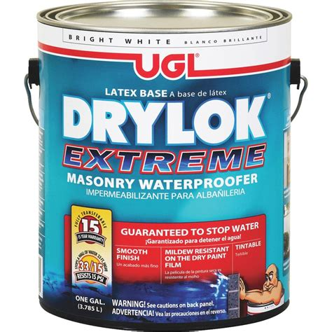 drylok extreme masonry waterproofer concrete sealer ebay