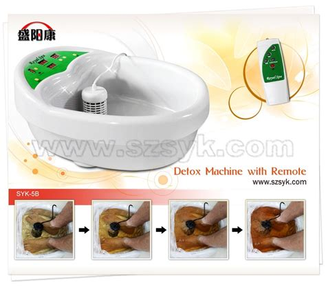 How To Detox From Electronics by China Foot Detox Bath With Remote Ce Rohs Syk