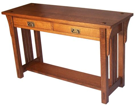 Mission Sofa Table Craftsman Coffee Tables By Taylor Mission Sofa Table