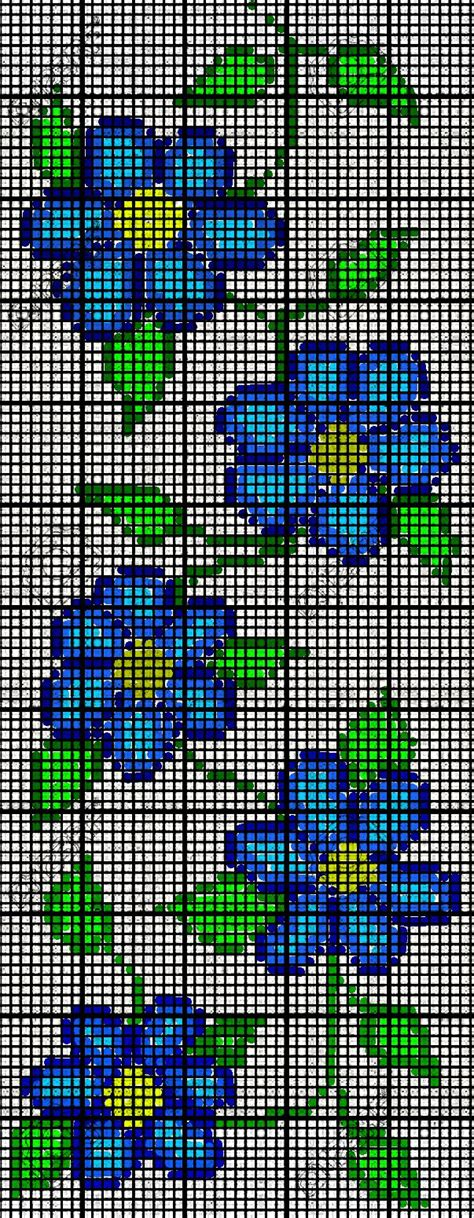 bead loom flower patterns ojibwe american floral flower bead loom pattern