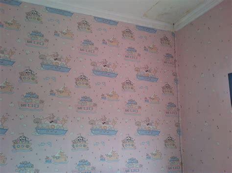 wallpaper surabaya wallpaper dinding surabaya hasil pemasangan wallpaper de wape interior toko