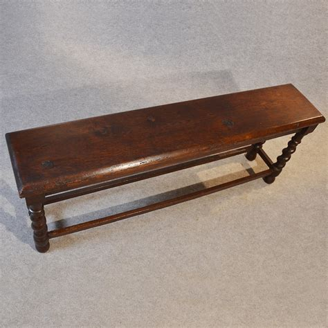 oak pew bench antique oak bench pew window hall seat long stool