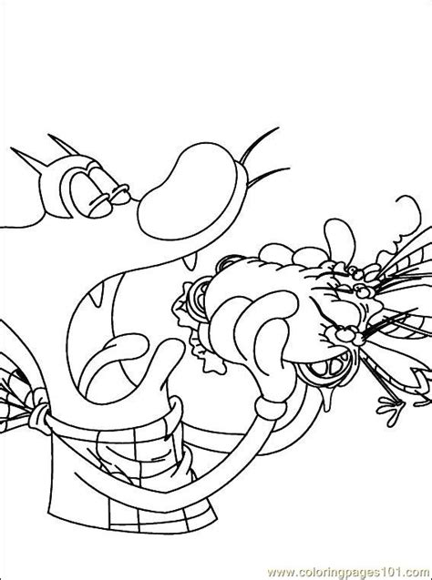 oggy coloring pages online oggy cockroaches 003 7 coloring page free oggy and the