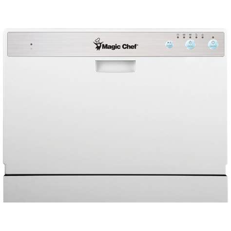 Magic Chef Countertop Dishwasher by Magic Chef Mcscd6w1 Countertop Dishwasher