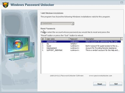 Windows Password Reset Enterprise | windows password unlocker enterprise 6 0 1 download free