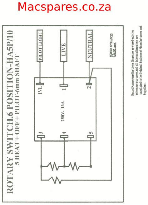 diagrams 11001528 rotary switch wiring diagram heater