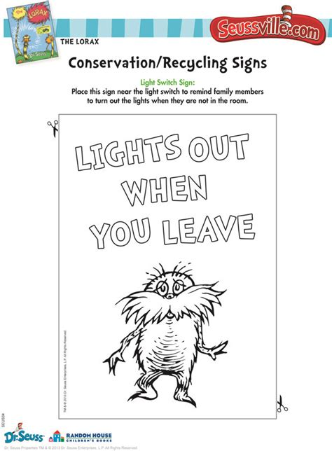 free printable lorax bookmarks 1000 images about the lorax on pinterest corner