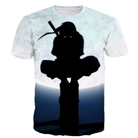 anime t shirts anime gifts art posters more naruto itachi uchiha tshirt moon light for sale