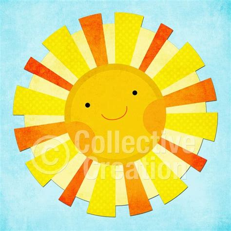sun craft for digital clipart personal and commercial use