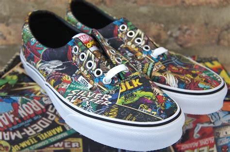 vans marvel comics skate shoe soleracks
