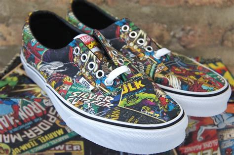 Vans Marvels Comic vans marvel comics skate shoe soleracks
