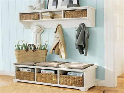 entryway bench with storage and hooks entryway bench with storage and hooks baskets
