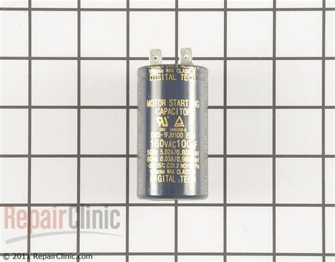 how to test a capacitor for a refrigerator capacitor j513 00012p repairclinic