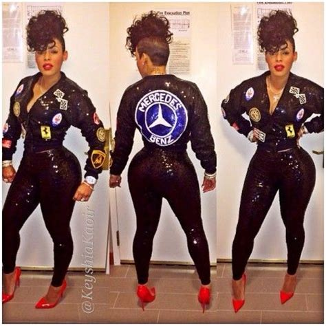 mercedes jacket #FashionKilla: KEYSHIA KAOIR Outfit at LUX ... Gucci Mane Costume