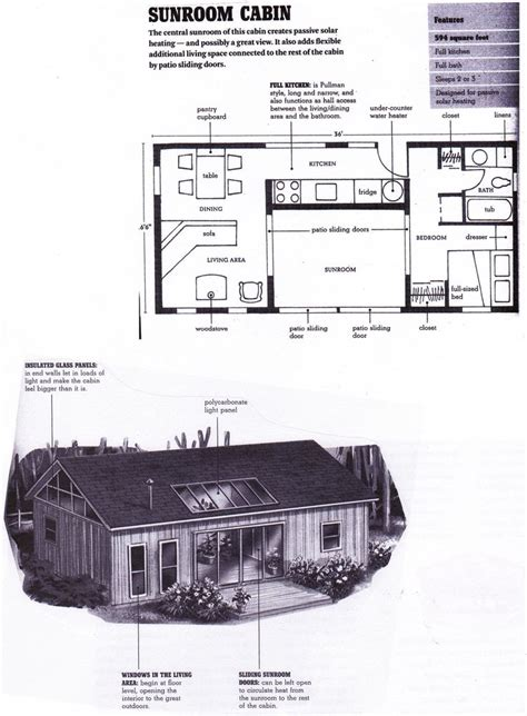 Can You Live With Less The Compact Is Inspiring Change by Sunroom Cabin Floorplan From Compact Cabins Simple