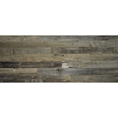 reclaimed wood gray wood 3 8 in thick x 3 5 in width x