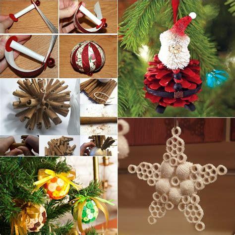 self made tree diy ornaments