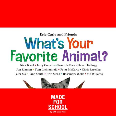 Whats Your Favorite Place To Shop by What S Your Favourite Animal Made For School