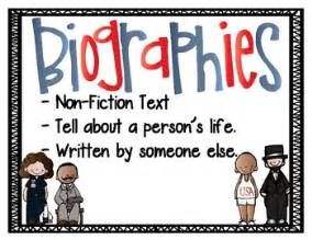 biography poster anchor chart by cynthia meteiver tpt