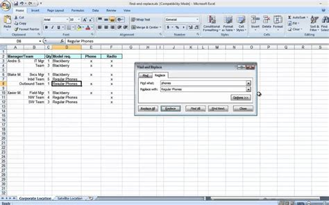 Find To With Find And Replace In Excel