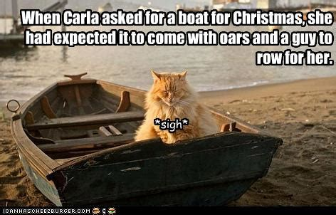 boat pictures with captions when carla asked for a boat for christmas rub mint