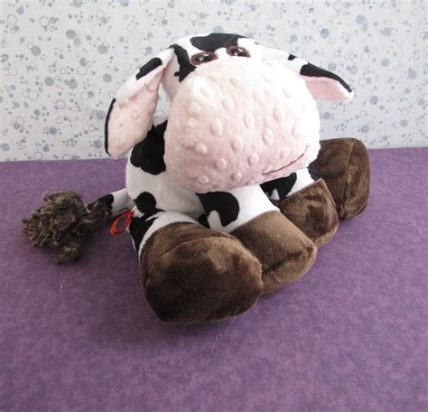 How To Sew Cowhide cow stuffed animal sewing pattern