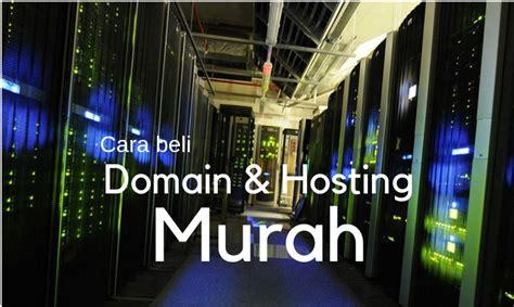 beli domain  hosting  harga murah