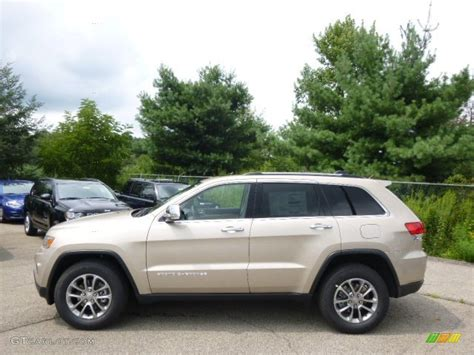 beige jeep grand 2015 pearl jeep grand limited 4x4
