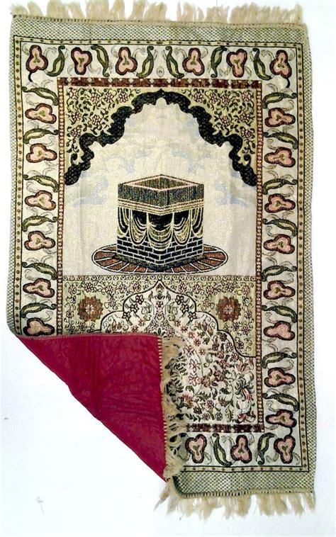 padded prayer rug padded prayer rug mat musallah janamaz sejadah with kaba islamic gift ebay