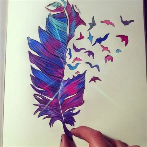 Drawing Image 2968385 By Helena888 On Favim Com Drawing Top Beautiful Color Images