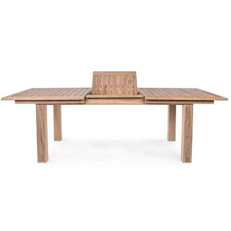 tavoli teak tavolo maryland in teak da giardino allungabile 180 240