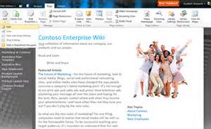 Sharepoint Wiki Template by Enterprise Wikis Sharepoint Rocks