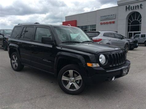 jeep patriot 2017 high altitude 2017 jeep patriot high altitude 4x4 leather nav rmt strt