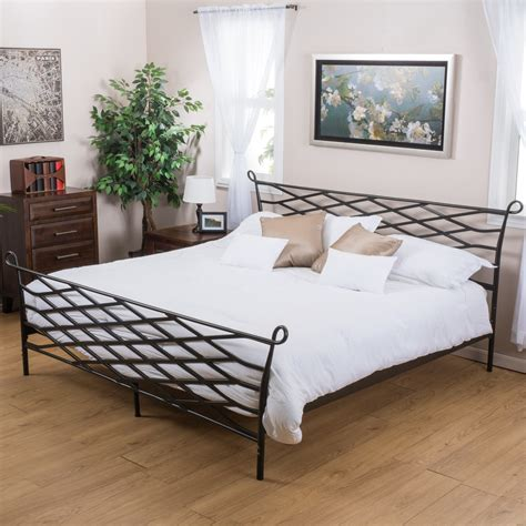 unique queen bed frames unique black iron geometric low queen bed frame top