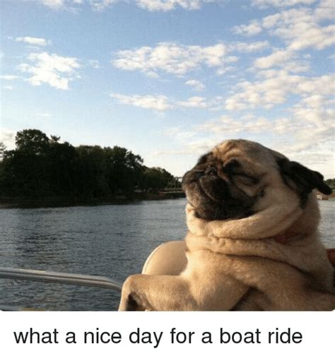 boat ride spanish what a nice day for a boat ride meme on me me