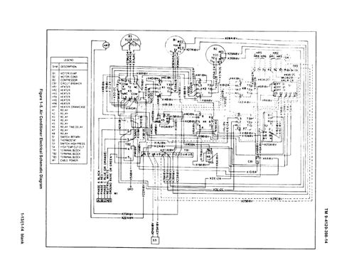figure 1 5 air conditioner electrical schematic diagram