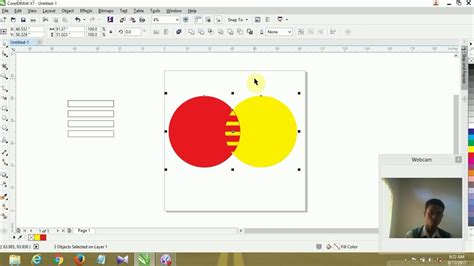 membuat logo corel draw x7 cara membuat logo mastercard di corel draw youtube