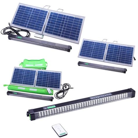 Solar L by Solar Cing L E D Light Bar With Remote