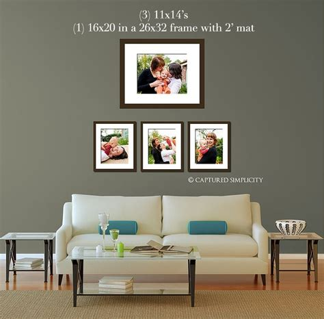 sofa wall art 11x14 s and a framed 16x20 over couch sofa wall displays