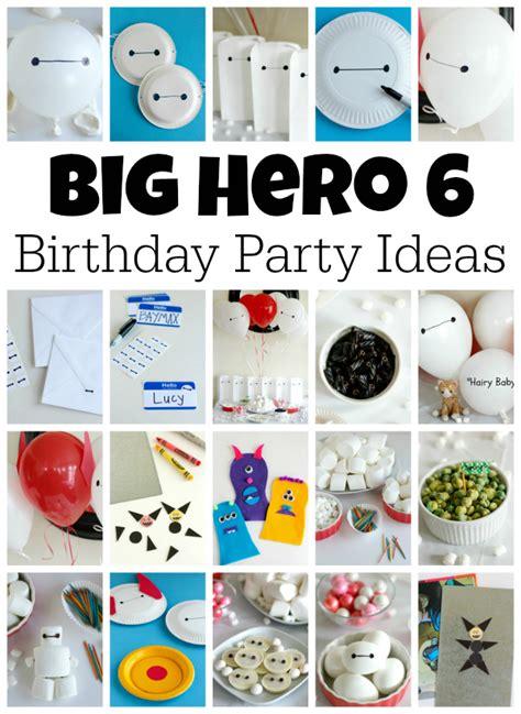 Christmas Movie Decorations Big Hero 6 Birthday Party Ideas Make And Takes
