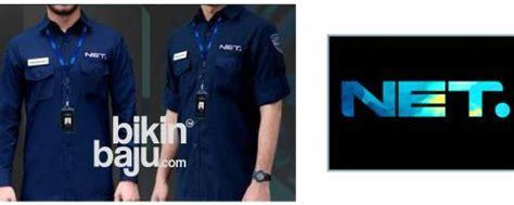 Baju Karyawan Net Tv baju seragam net tv seragam kerja the east net tv seragam kantor net tv mediatama konveksi
