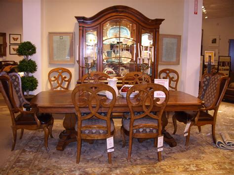 used dining room sets thomasville dining room set used home design ideas