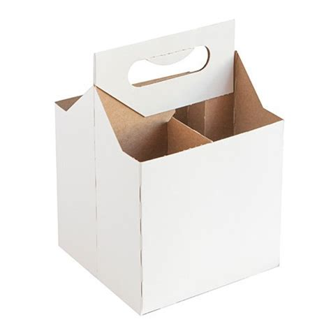 4 pack beer carrier template