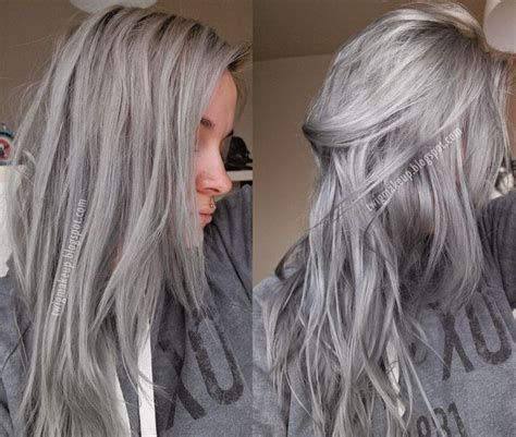 pravanna silverhaircolor tips pravana vivids silver before and after www imgarcade com